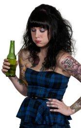 Drunk Tattoo Girl