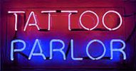 Tattoo Parlor Sign