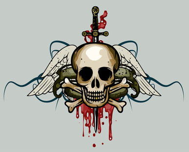 Reasons to Get a Tattoo - Bloody Skull