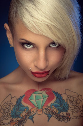 Personality Tattoo Girl