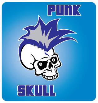 Punk Skull Design