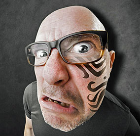 Reasons to Get a Tattoo - Angry Ink Face