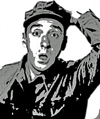 Gomer Pyle wants no Tattoo Surprises!