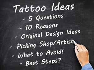 List of Tattoo Ideas