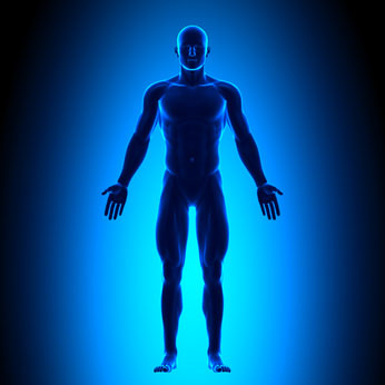 Tattoo Prep Man's Body